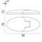 boat hinge / for doors / brass