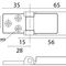 boat hinge / universal / for doors / stainless steel
