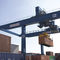 floor track container stacking crane