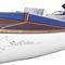 outboard runabout / electric / center console / fiberglass
