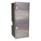 boat refrigerator-freezer / for yachts / built-in / stainless steel