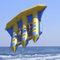 6-person max. towed banana buoy
