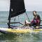 single-handed sailing dinghy / double-handed / children's / regatta