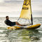 single-handed sailing dinghy / recreational / inflatable