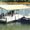 floating dock / mooring / boat / stainless steel