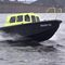 hydrographic survey boat professional boat / inboard waterjet / diesel / HDPE