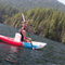 sit-on-top kayak / inflatable / sea / touring