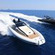 inboard inflatable boat / twin-engine / rigid / center console