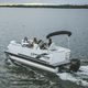 outboard pontoon boat / 9-person max.