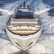 cruising super-yacht / classic / flybridge / GRP
