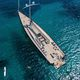 cruising sailing super-yacht / open transom / 3-cabin / sloop
