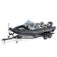 outboard bay boat / dual-console / sport-fishing / 8-person max.