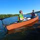 recreational canoe / 3-person / polyethylene