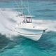 outboard center console boat / twin-engine / sport-fishing / offshore