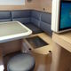 boat refrigerator / for yachts / built-in / AC/DC