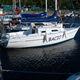 coastal cruising sailboat / 1-cabin / twin-berth