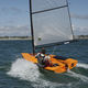 single-handed sailing dinghy / regatta / recreational / skiff