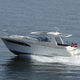 inboard cabin cruiser / planing hull / hard-top / 8-person max.