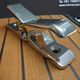 boat deck cleat / opening / stainless steel / titanium