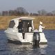 outboard day fishing boat / wheelhouse / hard-top / 8-person max.