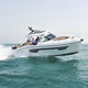 outboard cabin cruiser / planing hull / sport / fiberglass