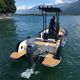 outboard day fishing boat / aluminum