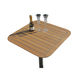boat table / for yachts / teak