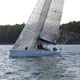sport keelboat sailboat / racing / with bowsprit / carbon mast