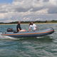 outboard inflatable boat / rigid / foldable / open