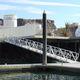 dock gangway / aluminum / with handrails