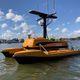 hydrographic survey unmanned surface vehicle / teleoperated / mini catamaran