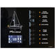 marine monitoring and control panel / for yachts / for sailboats / bilge