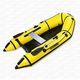 outboard inflatable boat / rigid / for fishing / 3-person