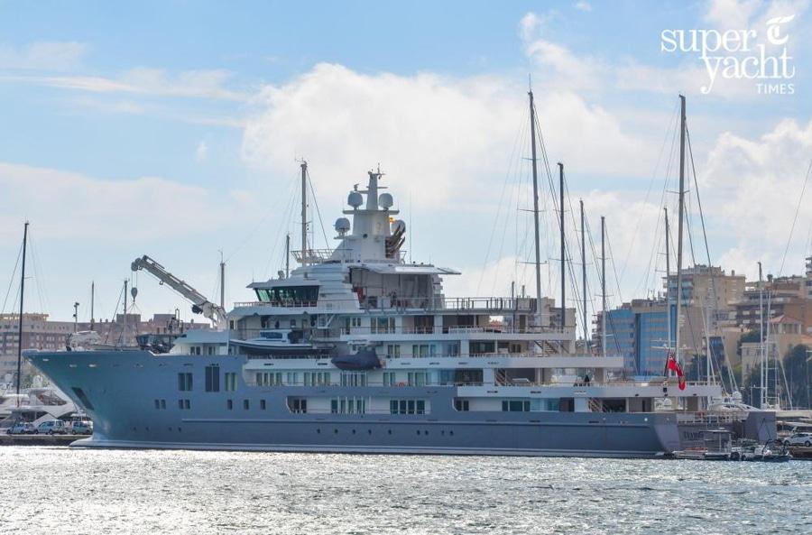 Exclusive: 107m explorer yacht Ulysses delivered