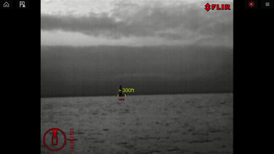 FLIR M232 thermal camera ClearCruise, eyes-on with Raymarine
