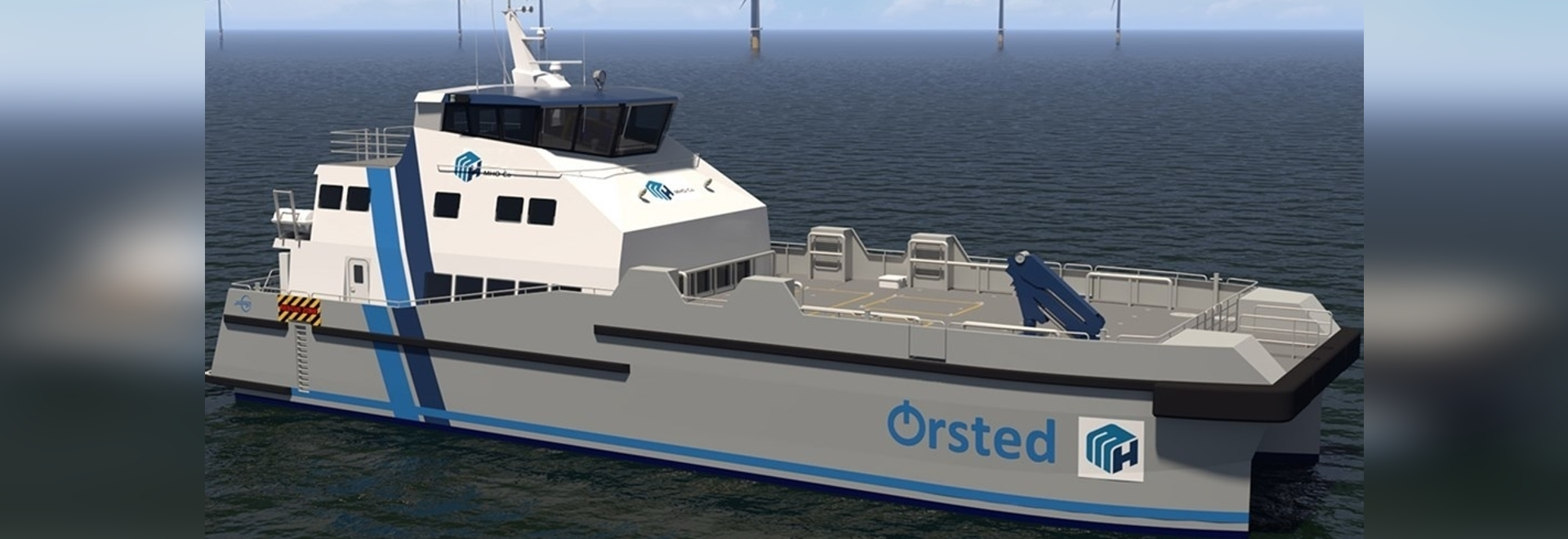 The 35-meter (112-foot) CTVs have been designed by MHO&Co in cooperation with Incat Crowther.