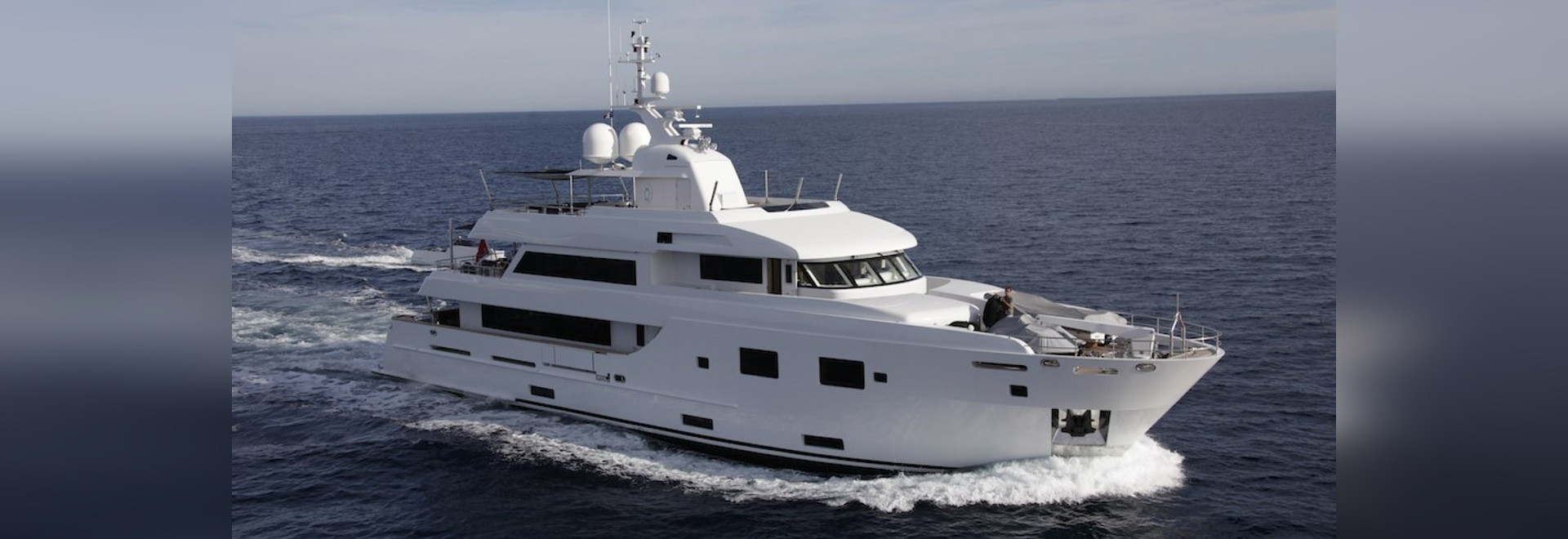 The 35m motor yacht JBH sold