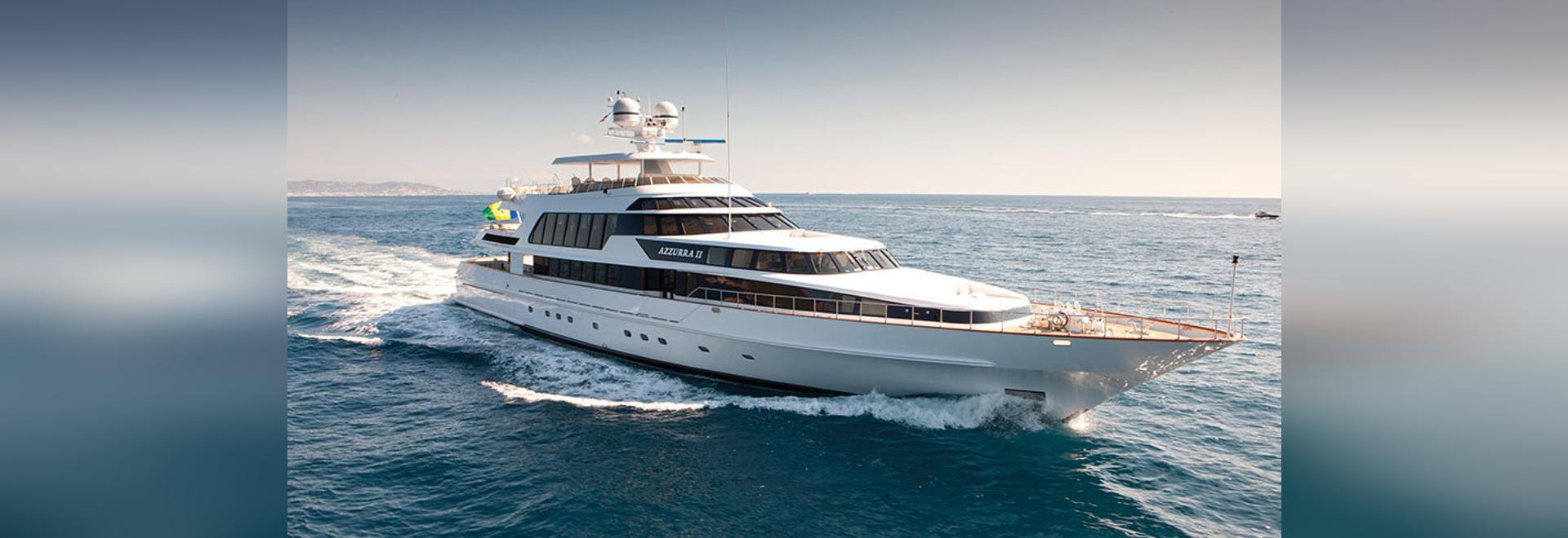 48m CRN motor yacht Azzurra II for sale
