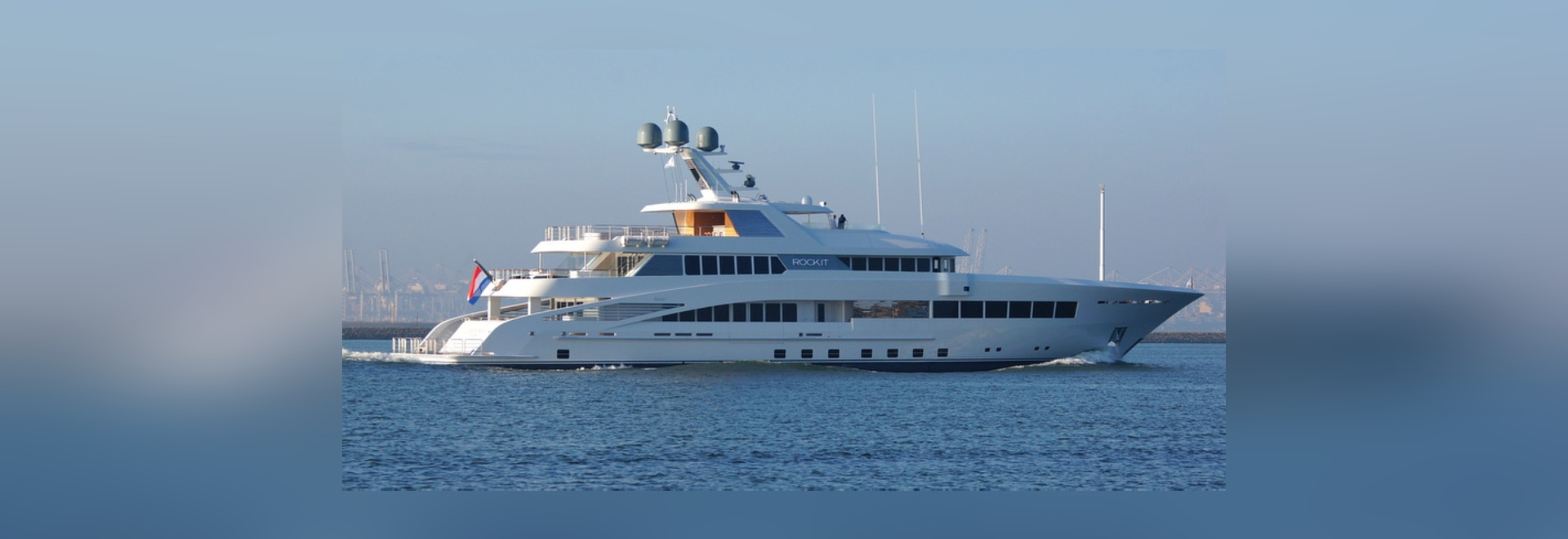 60m Feadship mega yacht ROCK.IT (hull 687) completes sea trials