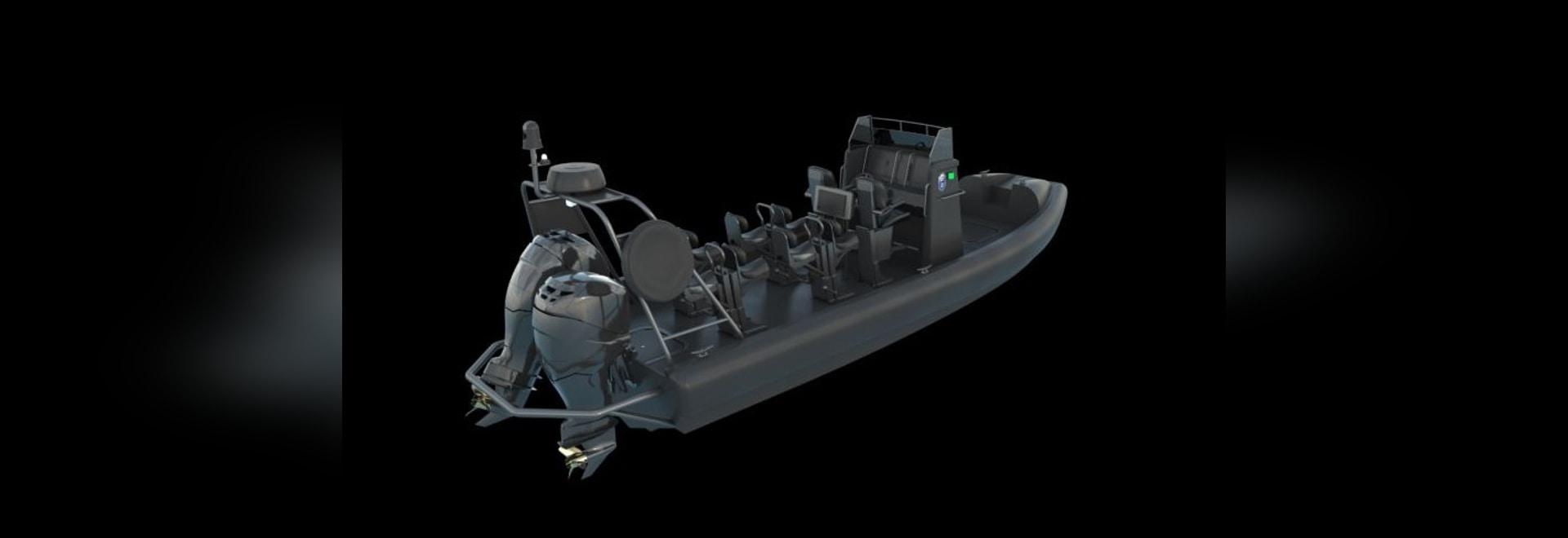 The 8-metre ProZero Center Console has a non-stepped, variable deep V-bottom hull