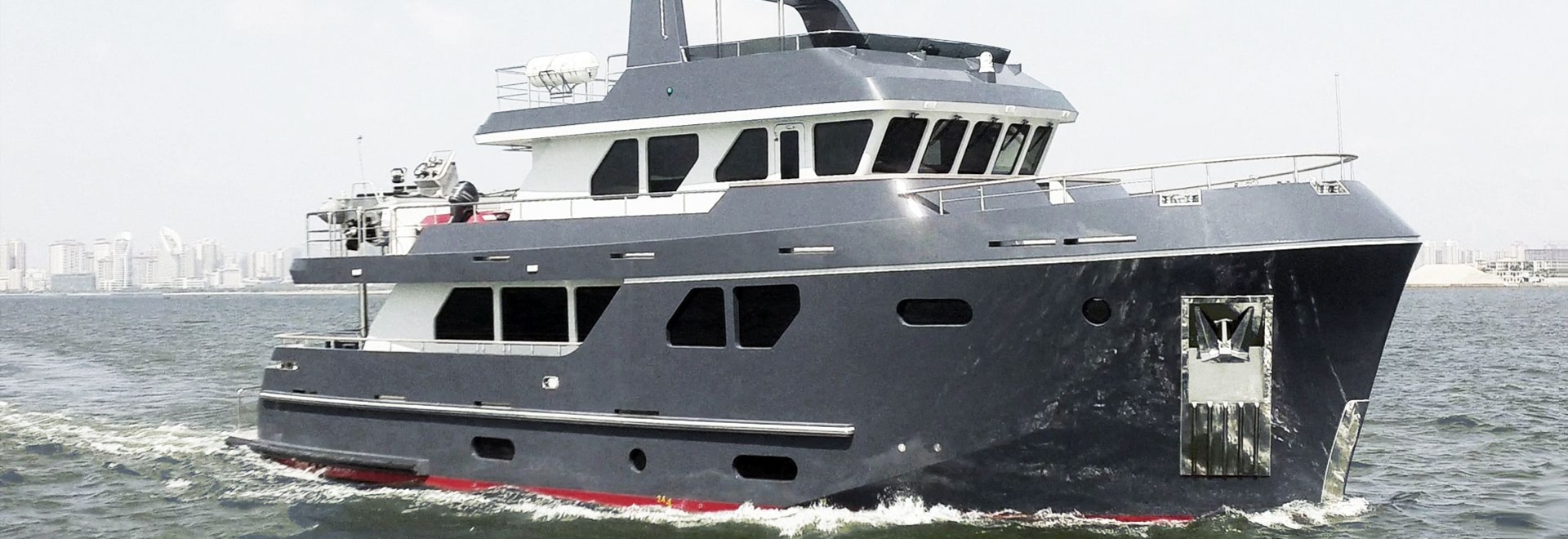 """Bering Yachts announces the successful launch of Bering 80 """"Veda""""."""
