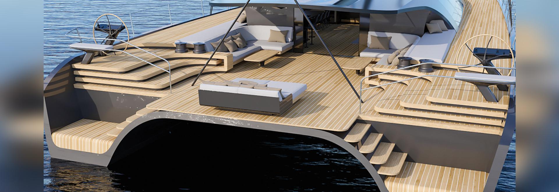 Black Cat 30: Daring catamaran concept promises superyacht luxury at 32 knots