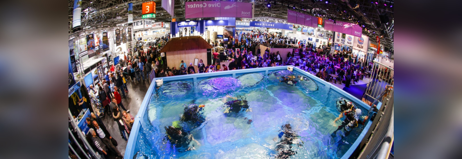 boot Düsseldorf: more than 400 exhibitors at the world's largest diving trade fair