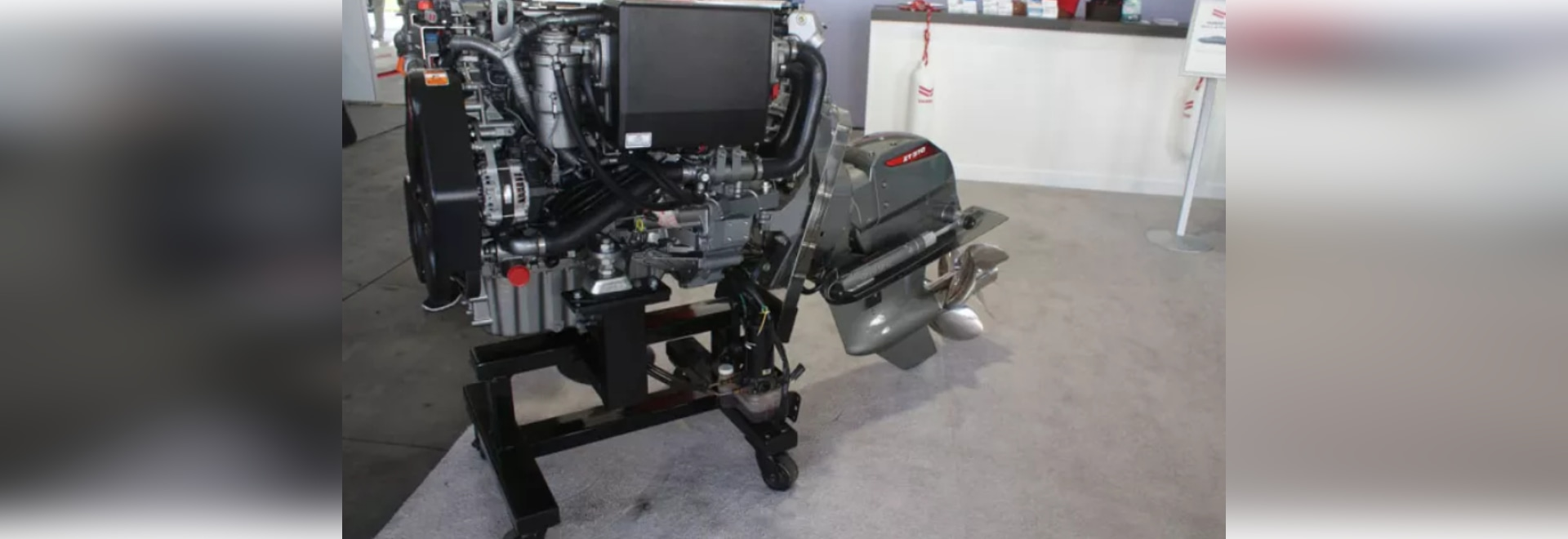 Built on a 4-cylinder block, the diesel is offered in 150-, 170- and 195-hp versions.