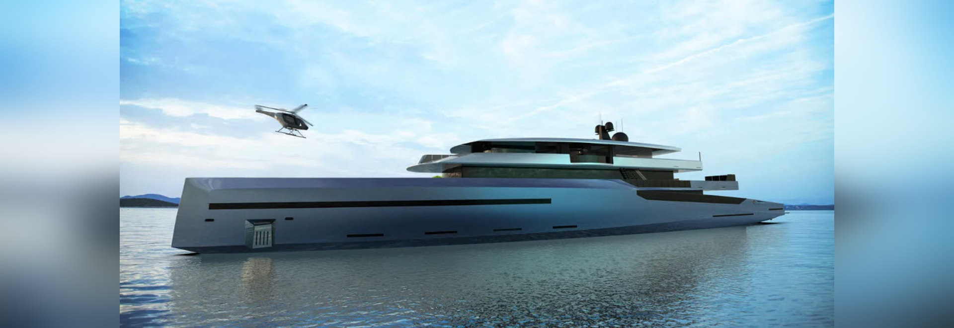 BYD Group Reveals 75 Metre Superyacht Concept Bravo 75