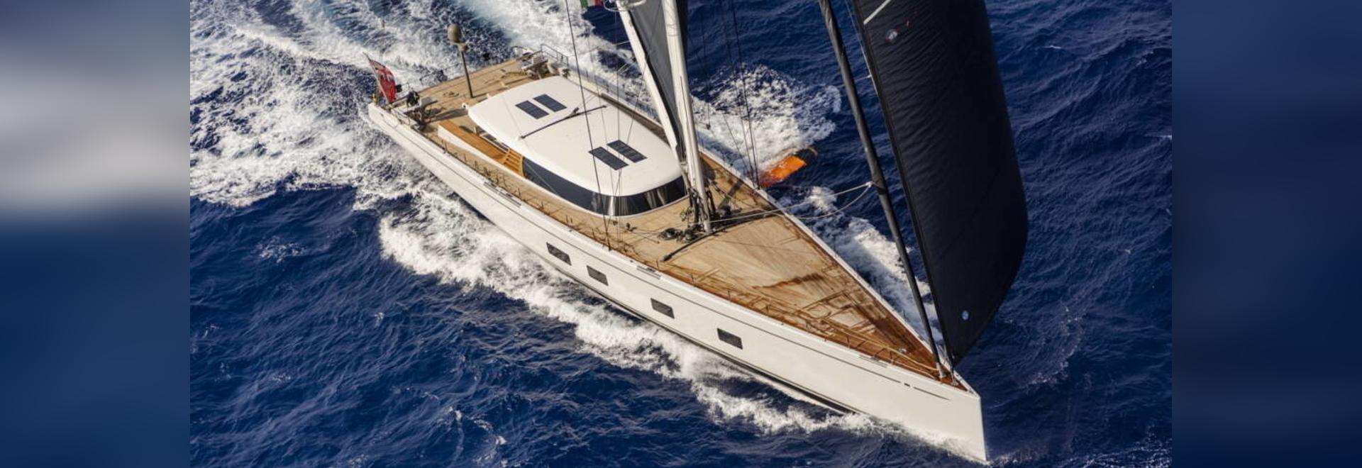 Canova – The foiling superyacht designed for comfort