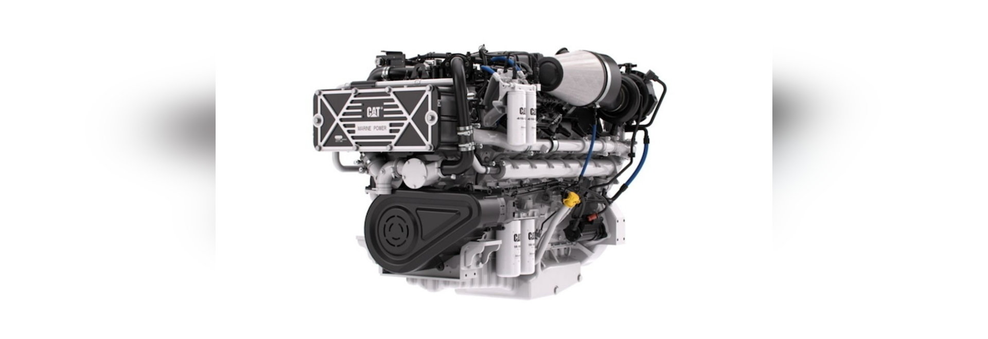 The Cat C32B marine engine will be available for order in fall of 2020.