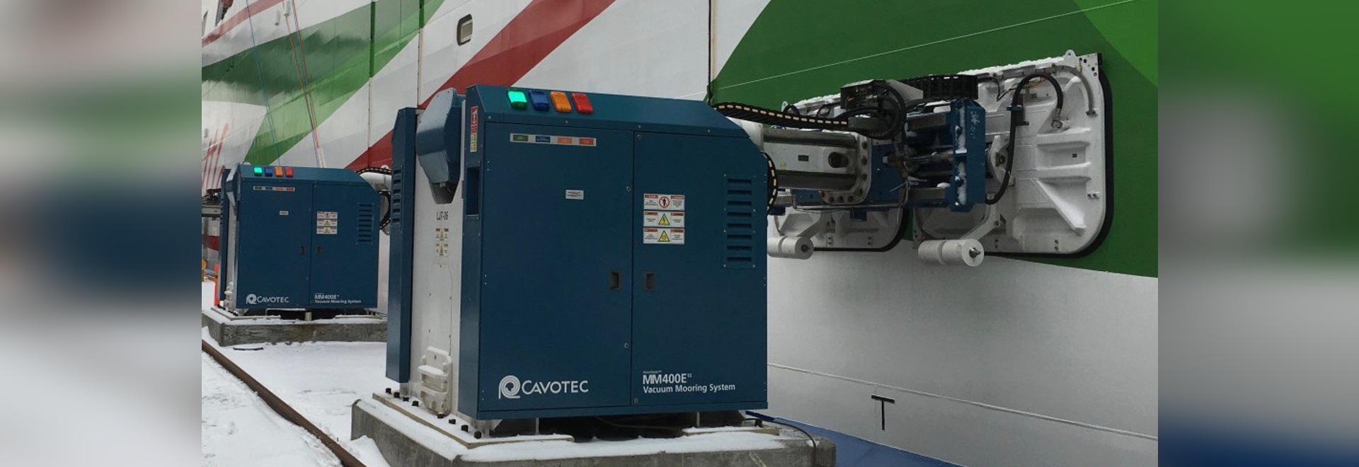 Cavotec wins automated mooring order in Finland