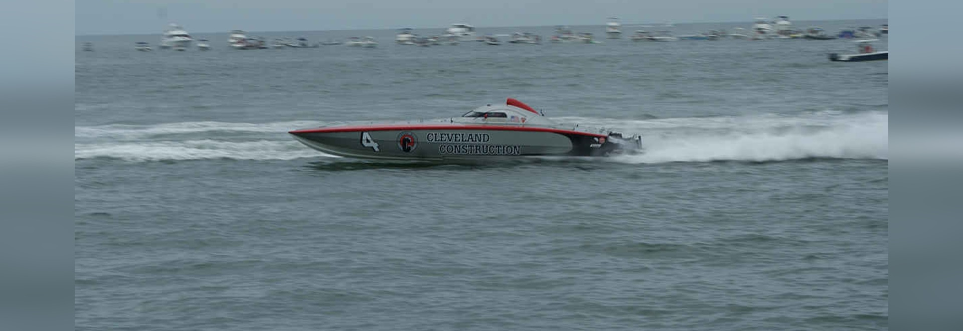 Cleveland Construction was just one of many powerboats vying for a title.