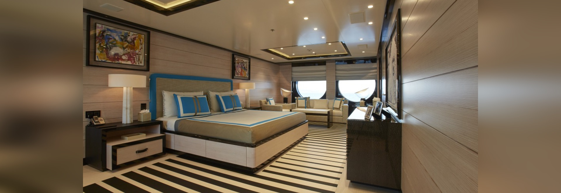 Closer look at 60m Amels superyacht Madame Kate